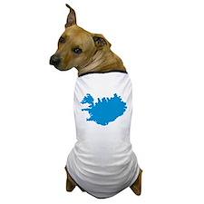Iceland map Dog T-Shirt