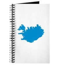 Iceland map Journal