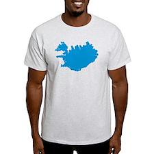 Iceland map T-Shirt