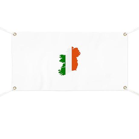 Ireland map Banner