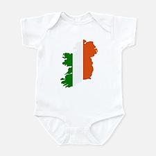 Ireland map Infant Bodysuit