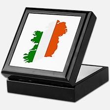 Ireland map Keepsake Box
