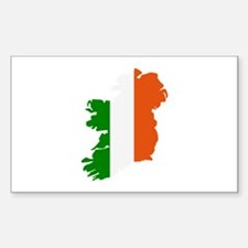 Ireland map Decal