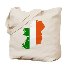 Ireland map Tote Bag