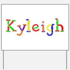 Kyleigh Balloons Yard Sign