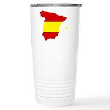 Spain map Thermos Mug