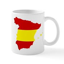 Spain map Small Mug