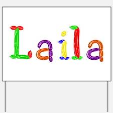 Laila Balloons Yard Sign