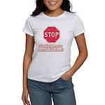 STOP! Women's T-Shirt