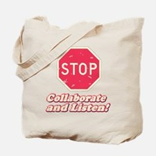 STOP! Tote Bag
