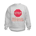 STOP! Kids Sweatshirt