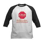 STOP! Kids Baseball Jersey