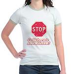 STOP! Jr. Ringer T-Shirt