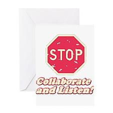 STOP! Greeting Card