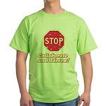 STOP! Green T-Shirt