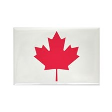 Maple leaf Rectangle Magnet (10 pack)