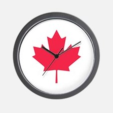 Maple leaf Wall Clock