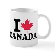 I love Canada Small Mugs