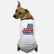 Fantasy Football Machine Dog T-Shirt