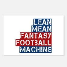 Fantasy Football Machine Postcards (Package of 8)