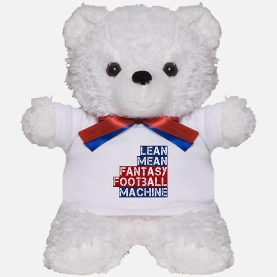 Fantasy Football Machine Teddy Bear