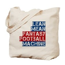 Fantasy Football Machine Tote Bag
