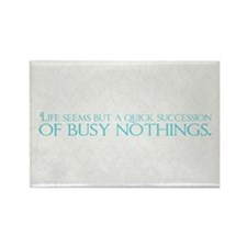Busy Nothings Rectangle Magnet