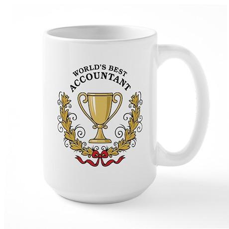 World's Best Accountant Large Mug