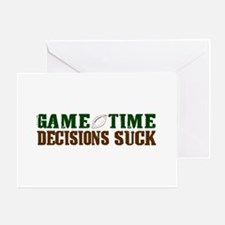 Gametime Decision (FFL) Greeting Card