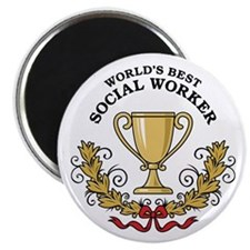 World's Best Social Worker Magnet