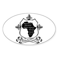 Defending Africa Orphans Decal