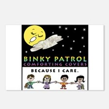 Central Ohio Binky Patrol Postcards (Package of 8)