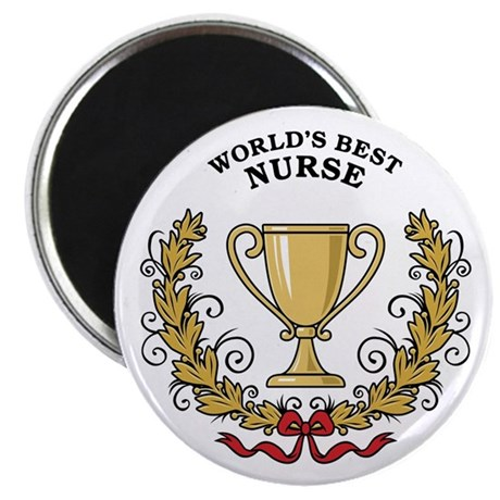 World's Best Nurse Magnet