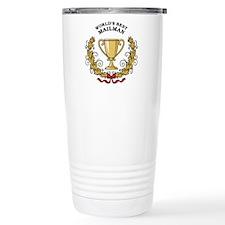 World's Best Mailman Travel Mug