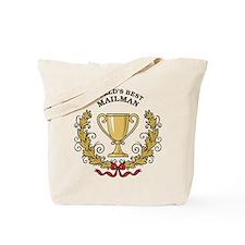 World's Best Mailman Tote Bag