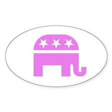Pink Elephant Decal