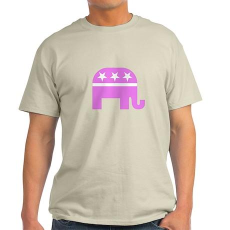Pink Elephant Light T-Shirt