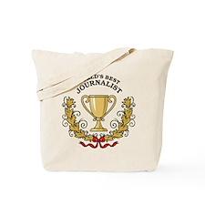 World's Best Journalist Tote Bag