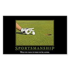 Sportsmanship Decal