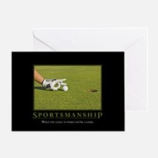 Sportsmanship Greeting Card