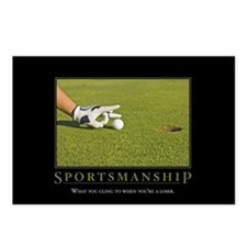 Sportsmanship Postcards (Package of 8)