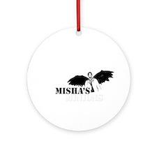 Cute Misha collins Ornament (Round)