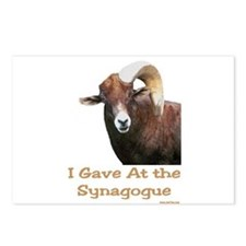 Shofar Humor Postcards (Package of 8)