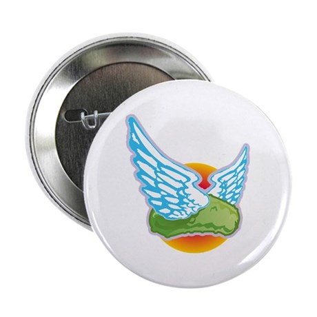 """The Flying Pickle 2.25"""" Button"""