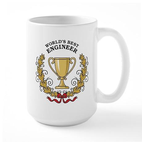 World's Best Engineer Large Mug
