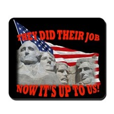 Our Turn Now! Mousepad