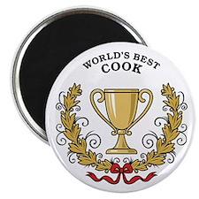 World's Best Cook Magnet
