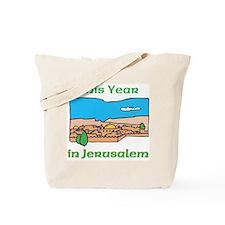 This Year In Jerusalem Tote Bag