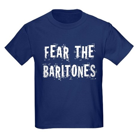 Fear The Baritones Kids Dark T-Shirt