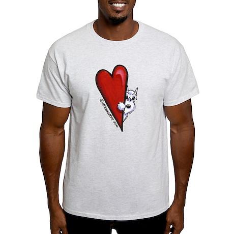 White Schnauzer Lover Light T-Shirt